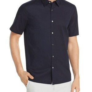 Thoery Irving Sphere Regular Fit Shirt